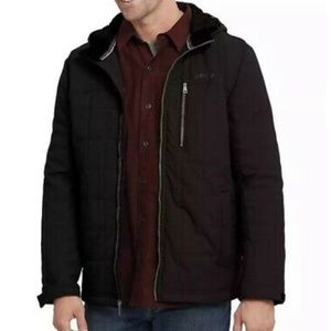 Quilted Hooded Jacket by Orvis NWT